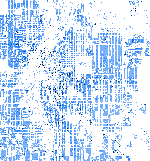 Denver at high resolution